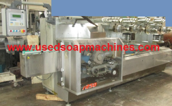 ACMA 711 soap wrapping machine